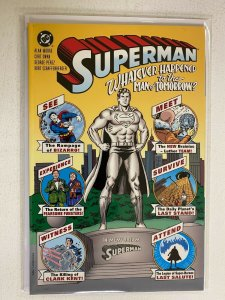Superman Whatever Happened to the Man of Tomorrow #1 DC 2nd Print 8.0 VF (1997)