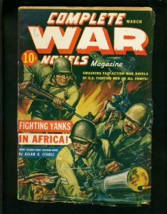 COMPLETE WAR PULP-MAR-1943-MILITARY FIGHT-RED CIRCLE- FN