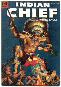 Indian Chief #16 1954- Dell Western- White Eagle VG+
