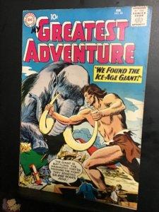 My Greatest Adventure #40 (1960) mid-high-grade sci-fi key! FN/VF Wow!