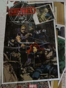 SECRET AVENGERS Promo Poster, 24 x 36, 2012, MARVEL Unused more in our store 267