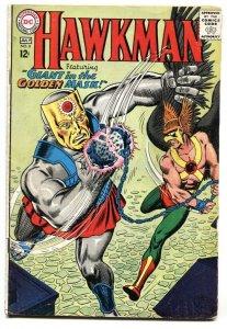 HAWKMAN #8 1965-GOLDEN MASK-DC COMICS-SILVER AGE VG