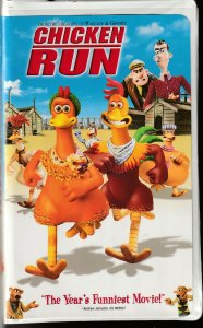 Chicken Run VHS From the Creator of Wallace and Gromit !