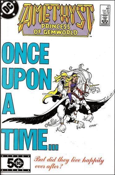 DC AMETHYST, PRINCESS OF GEMWORLD (1985 Series) #12 FN+