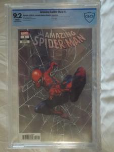 Amazing Spider-Man #1 - CBCS 9.2 - Jerome Opena Retalier Variant