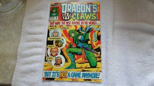 JUNE 1988 MARVEL COMICS DRAGON,S CLAWS # 1