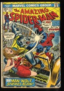 Amazing Spider-Man #125 2nd Man-Wolf!
