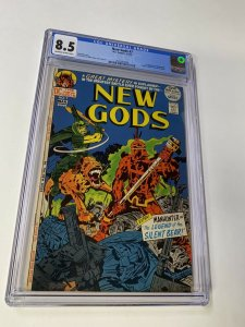 New Gods 7 Cgc 8.5 Ow/w Pages 1st Steppenwolf Dc Comic