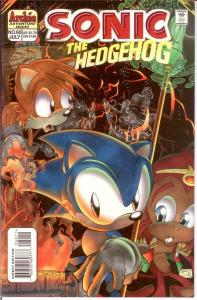 SONIC THE HEDGEHOG (1993 ARCHIE) 60 VF-NM  July 1998 COMICS BOOK