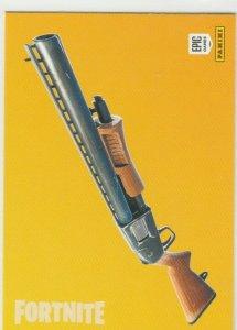 Fortnite Pump Shotgun 106 Uncommon Weapon Panini 2019 trading card series 1