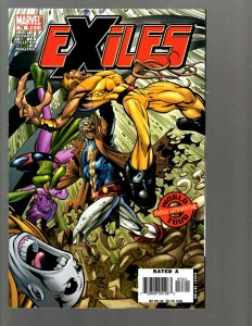 12 Marvel Comics Exiles 73 74 75 76 77 86 88 ANN 1 Identity Disc 5 and more EK22