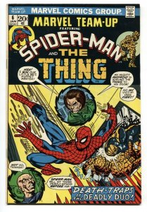 Marvel Team-Up #6 1973- Spider-man Thing  comic book VF/NM