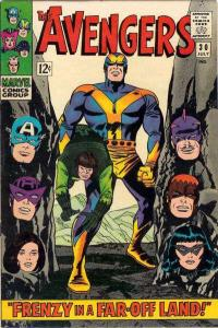 Avengers (1963 series) #30, VG- (Stock photo)