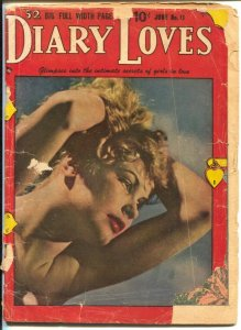 Diary Loves #11 1951-Quality-lingerie panels-Bill Ward?-Paul Gustafson-FR