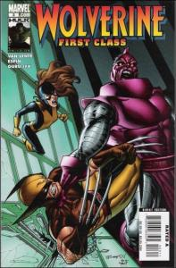 Marvel WOLVERINE: FIRST CLASS #3 VF/NM