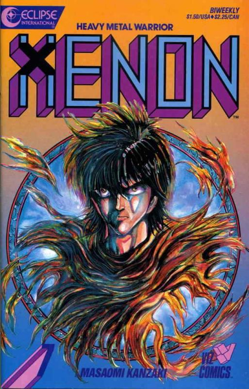 Xenon #7 VF/NM; Eclipse | save on shipping - details inside