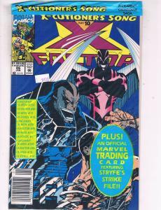 X-Factor #86 VF/NM Marvel Comics Bagged Comic Book Jan 1993 DE41 AD18