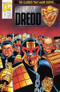 LAW OF DREDD (Q)   20-27,31-33  He IS The Law...! COMICS BOOK