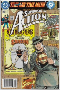 Action Comics   vol. 1   #663 VG (Time and Time Again 2)