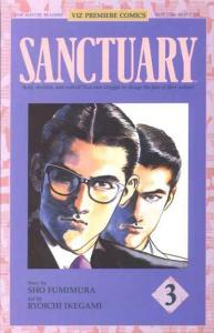 Sanctuary (1993 series) #3, NM (Stock photo)