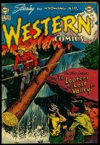 Western Comics #27 1951- Wyoming Kid- Nighthawk VG