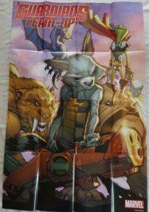 GUARDIANS TEAM-UP  Promo Poster, 24 x 36, 2015, MARVEL, Unused 197