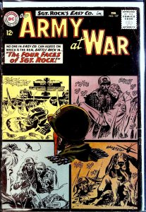 Our Army at War #127 (1963) second all-Sgt. Rock issue, intro of Little Sure ...