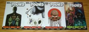 the Pound: Ghouls Night Out #1-4 VF/NM complete series featuring proof 2 3 set