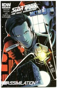 STAR TREK DOCTOR WHO Assimilation 2 #4 B, NM, Cybermen, Borgs,2012,more in store