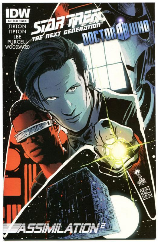STAR TREK DOCTOR WHO Assimilation 2 #4 B, NM, Cybermen, Borgs,2012,more in store