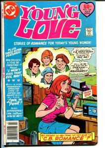 Young Love #126 1977-DC-CB radio cover-auto race-Ric Estrada-Colletta-VG