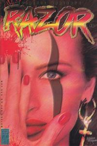 Razor (1992 series) #8, NM (Stock photo)