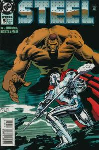 Steel #5 VF/NM; DC | save on shipping - details inside