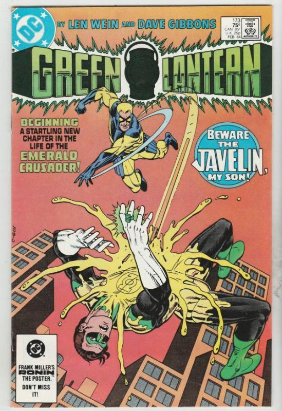 Green Lantern #173 (Jan-84) NM Super-High-Grade Green Lantern, The Green Lant...