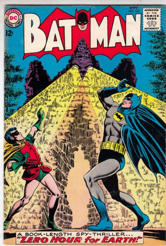 Batman #167 (Nov-64) FN/VF Mid-High-Grade Batman