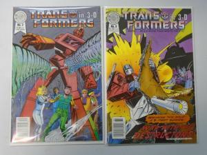 Transformers 3-D #2+3 (1987+88) 6.0 FN