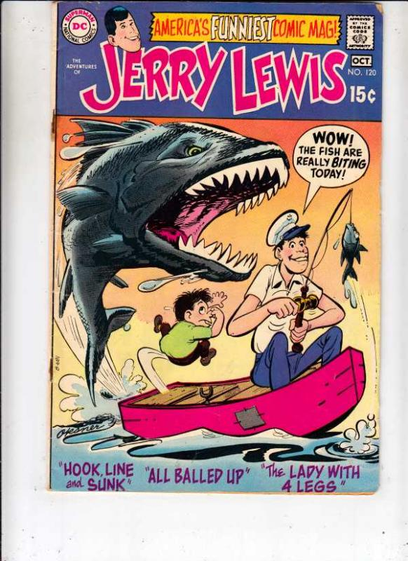 Jerry Lewis, the Adventures of #120 (Oct-70) FN/VF- Mid-Grade Jerry Lewis