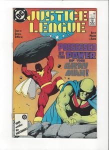 Justice League #6 1987 DC Comics Copper Age  NM