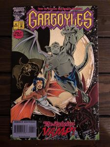 Gargoyles #4 (1995, Marvel) NM Based on the Disney Animated TV Series Scarce HTF