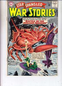 Star Spangled War Stories #107 (Mar-63) FN/VF- Mid-High-Grade Dinosaur