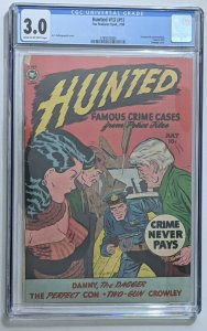 Hunted #13 (#1) Jul 1950, Fox CGC 3.0 Bondage cover used in SOTI