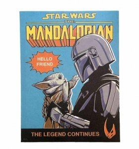 OFFICIAL Star Wars Mandalorian Baby Yoda Grogu 12x16 Wrapped Canvas Art Poster
