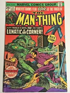 MAN-THING#21 FN/VF 1975 MARVEL BRONZE AGE COMICS