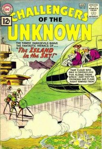 Challengers of the Unknown (1958 series) #23, VG (Stock photo)