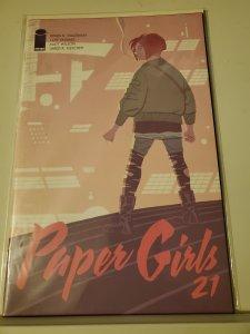 Paper Girls (ES) #21 (2019)