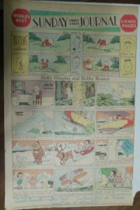 Dolly Dimples Sunday by Grace Drayton from 1/25/1931 Full Page Size !