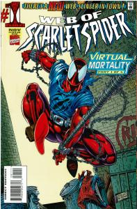 Web of Scarlet Spider #1, VF