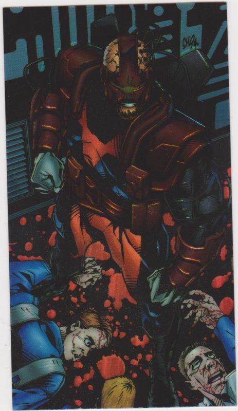 1995 Wildcats All-Chrome #25 Attica