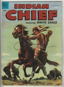 Indian Chief # 17 Strict VG/FN Mid-Grade Cover Painted, White Eagle Wow
