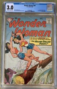 Wonder Woman #98 (1958) CGC 3.0 -- New Silver Age origin; 1st Andru & Esposito
